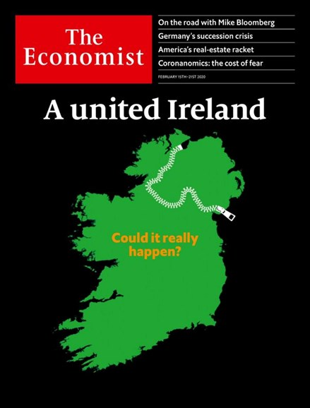 The Economist Cover - 2/15/2020