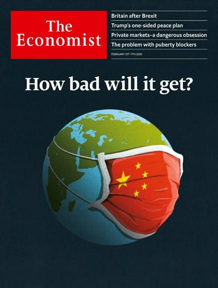 The Economist Cover - 2/1/2020