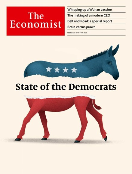 The Economist Cover - 2/8/2020