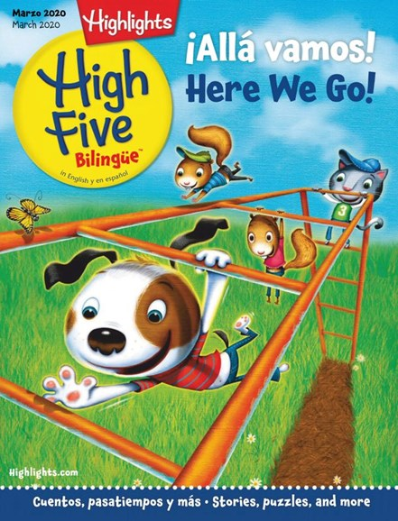 Highlights High Five Bilingue Cover - 3/1/2020