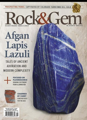 Rock and Gem Magazine | 3/2020 Cover