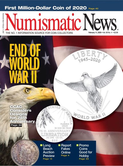 Numismatic News Cover - 2/11/2020