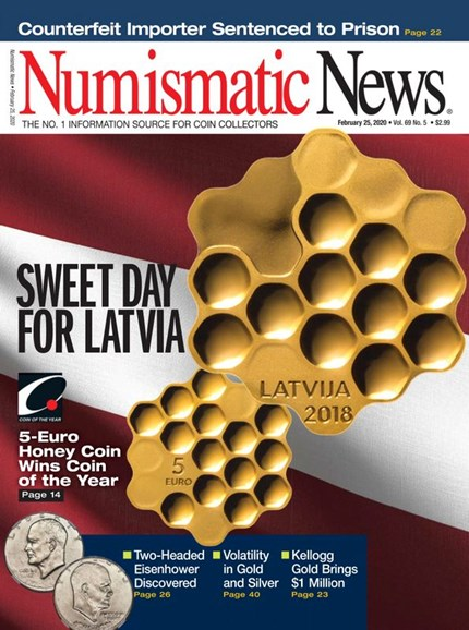 Numismatic News Cover - 2/25/2020