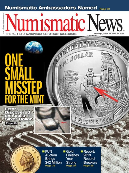 Numismatic News Cover - 2/4/2020