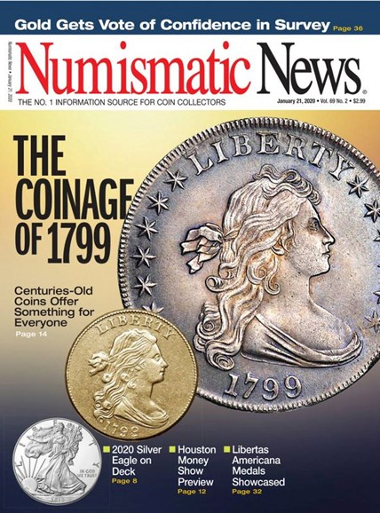 Numismatic News Cover - 1/21/2020