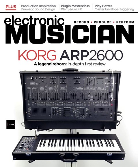 Electronic Musician Cover - 3/1/2020