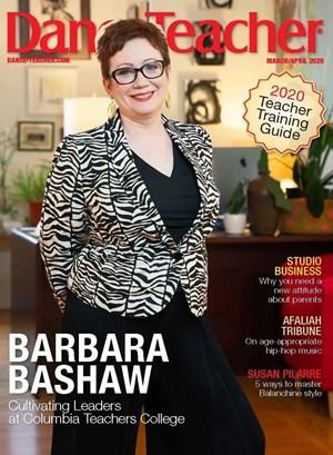 Dance Teacher Magazine | 3/2020 Cover