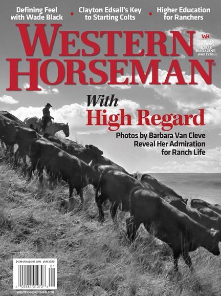 Western Horseman Cover - 1/1/2020