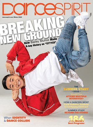 Dance Spirit Magazine | 1/2020 Cover