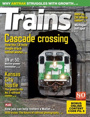 Trains Magazine | 3/2020 Cover