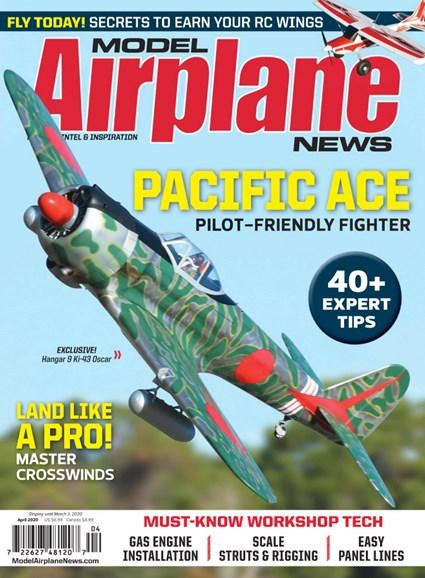 Model Airplane News Cover - 4/1/2020