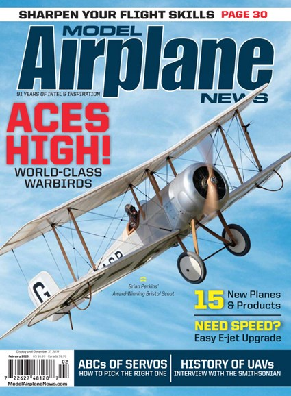 Model Airplane News Cover - 2/1/2020