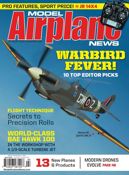 Model Airplane News Cover - 3/1/2020