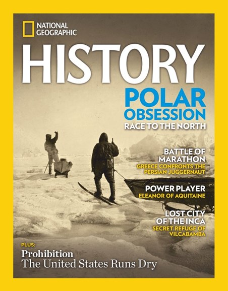National Geographic History Cover - 1/1/2020
