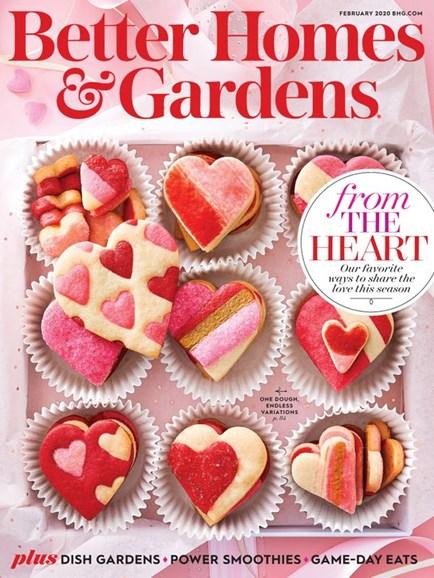 Better Homes & Gardens Cover - 2/1/2020
