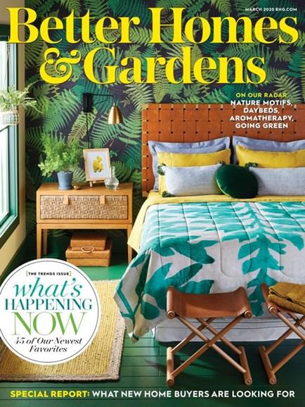 Better Homes & Gardens Cover - 3/1/2020