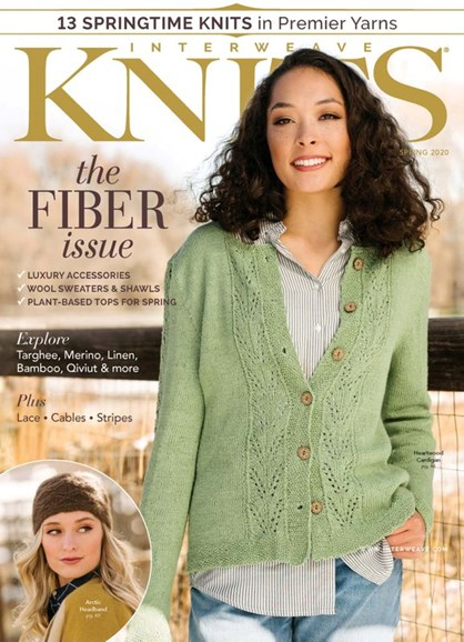Interweave Knits Cover - 3/1/2020