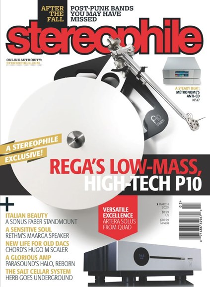 Stereophile Cover - 3/1/2020