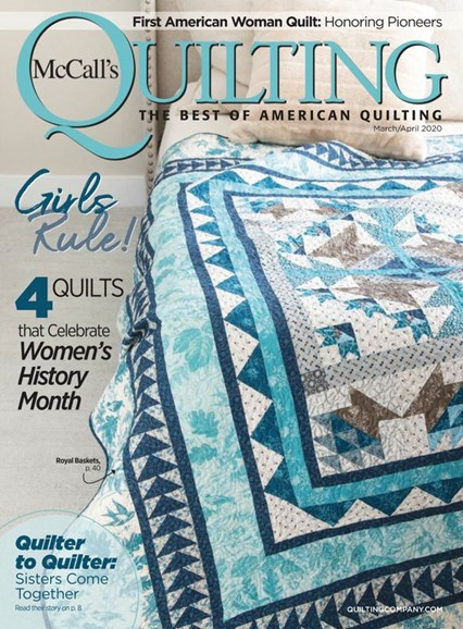 McCall's Quick Quilts Cover - 3/1/2020