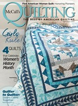 McCall's Quilting | 3/2020 Cover