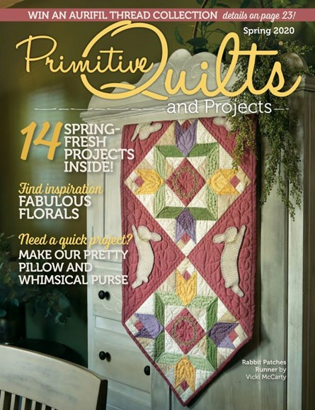 Primitive Quilts & Projects Cover - 3/1/2020