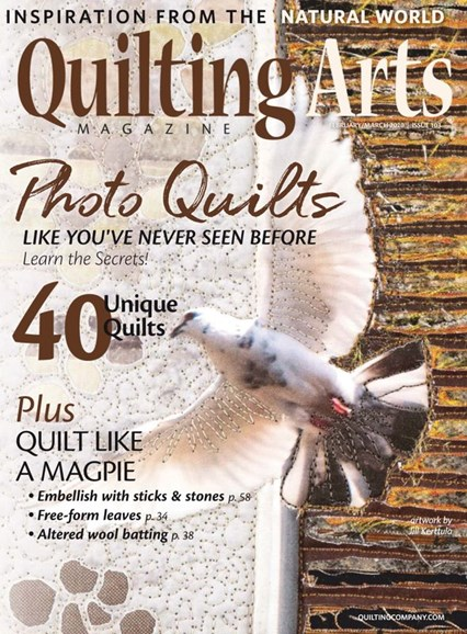 Quilting Arts Cover - 2/1/2020