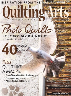 Quilting Arts Magazine | 2/2020 Cover