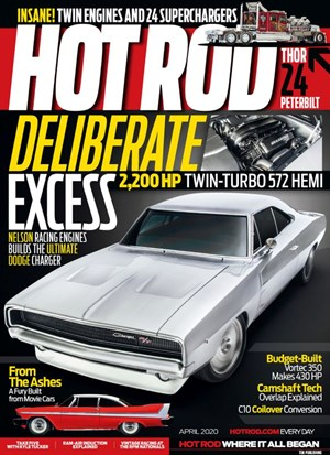 Hot Rod Magazine | 4/2020 Cover