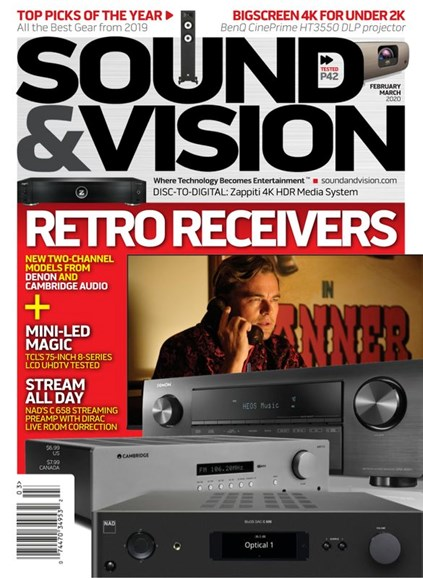 Sound & Vision Cover - 2/1/2020