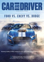 Car And Driver   3/2020 Cover