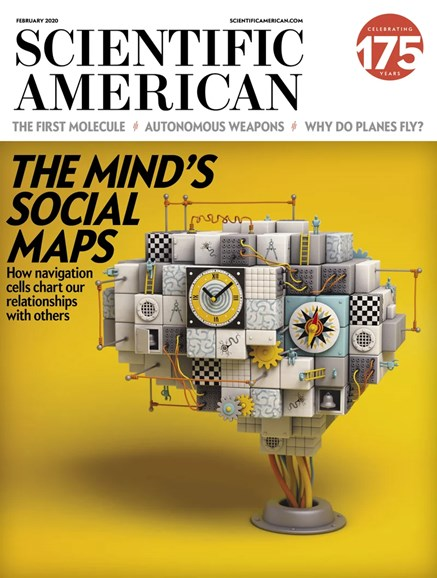 Scientific American Cover - 2/1/2020