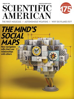 Scientific American Magazine | 2/2020 Cover