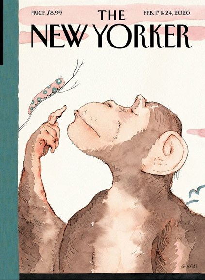 The New Yorker Cover - 2/17/2020