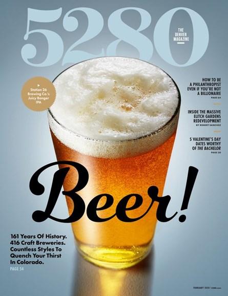 5280 Magazine Cover - 2/1/2020
