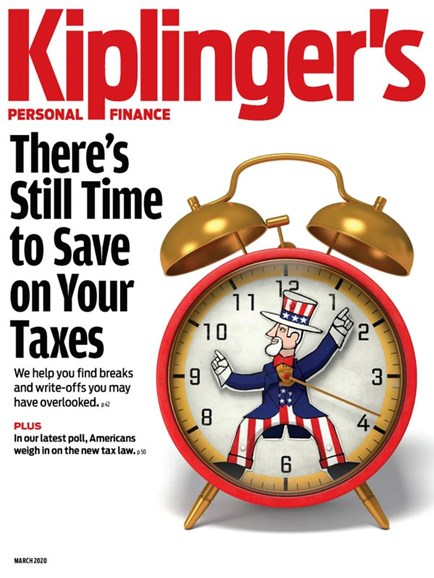 Kiplinger's Personal Finance Cover - 3/1/2020