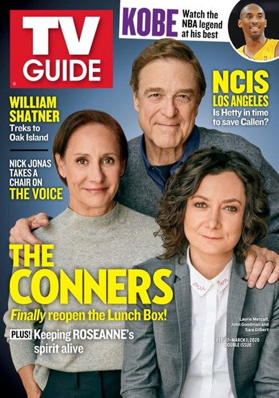 TV Guide Cover - 2/17/2020