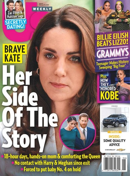 Us Weekly Cover - 2/10/2020