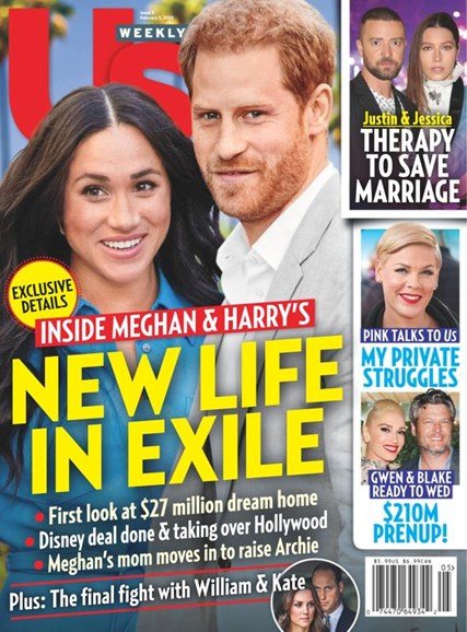 Us Weekly Cover - 2/3/2020