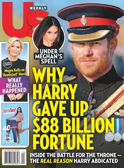 Us Weekly Cover - 1/27/2020