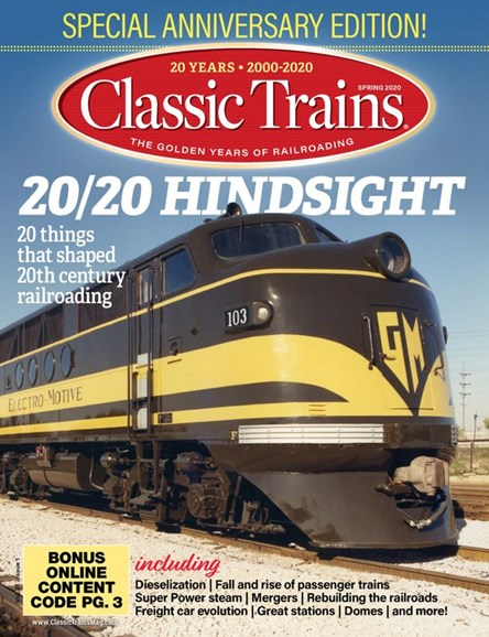 Classic Trains Cover - 3/1/2020