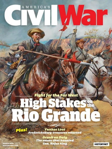 America's Civil War Cover - 3/1/2020