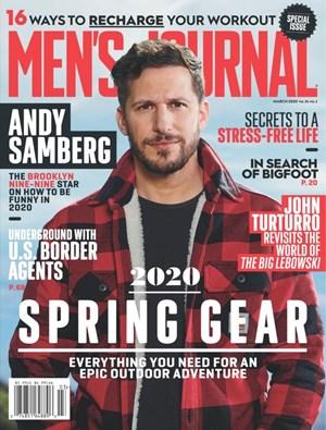 Men's Journal Magazine | 3/2020 Cover