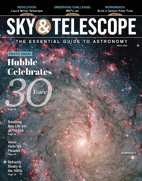 Sky & Telescope Cover - 4/1/2020