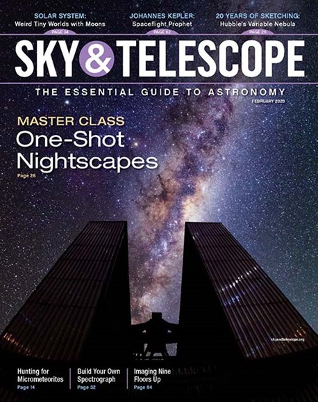 Sky & Telescope Cover - 2/1/2020