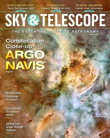 Sky & Telescope Cover - 3/1/2020