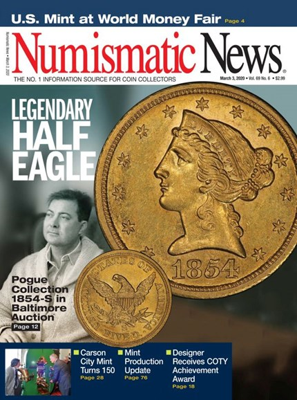 Numismatic News Cover - 3/3/2020