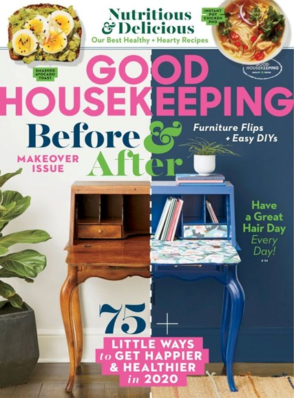 Good Housekeeping Cover - 1/1/2020