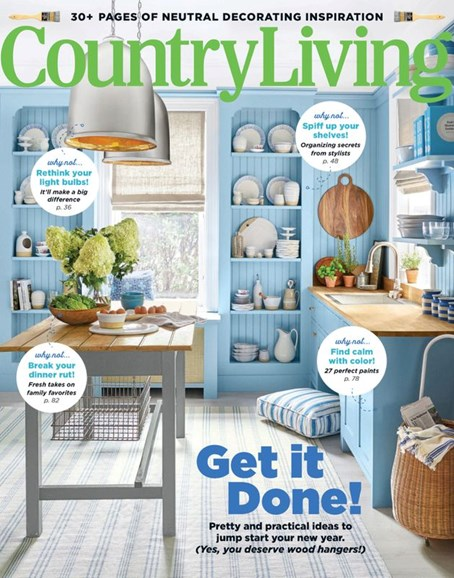 Country Living Cover - 1/1/2020