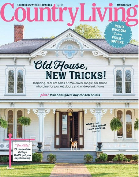 Country Living Cover - 3/1/2020