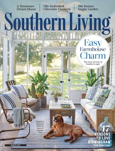 Southern Living Cover - 3/1/2020